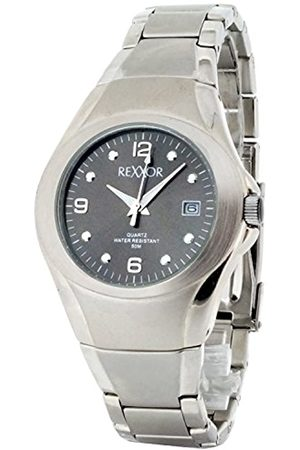 Rexxor Men's Quartz Watch with Dial Analogue Display and Stainless Steel 242-7105-88