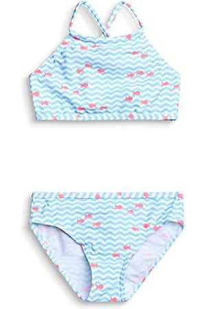 Esprit Girl's Water Aop Mg Bustier+brief Bikini Set