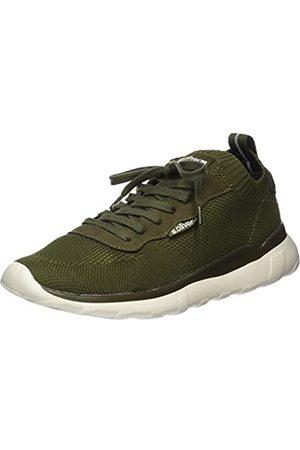 s.Oliver Men's 5-5-13642-34 Low-Top Sneakers, (Khaki 701)
