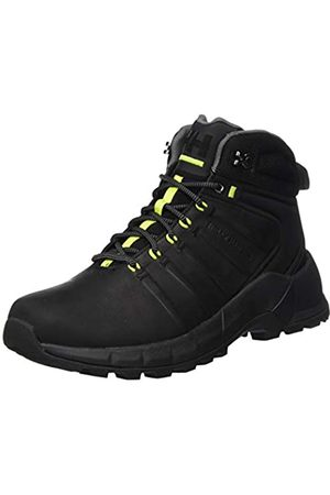 Helly Hansen Men's PINECLIFF BOOT Snow Boot, (990 /Charcoal/Azid Li)