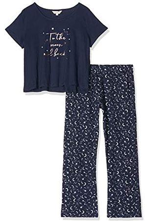 Dorothy Perkins Women's Navy to The Moon Pyjama Set Pajama