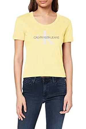 Calvin Klein Women's Vegetable DYE Monogram Baby TEE T-Shirt