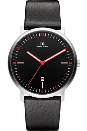 Danish Designs Danish Design Men's Quartz Watch with Dial Analogue Display and Leather Strap DZ120333