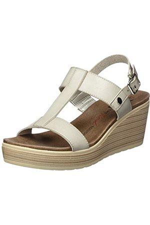 Leatherman Women's 49868 Platform Sandals, (Gris Gris)