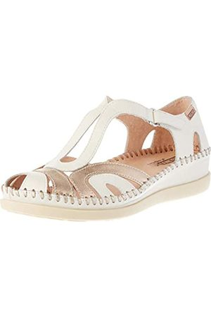 Pikolinos Leather Flat Sandals CADAQUES W8K