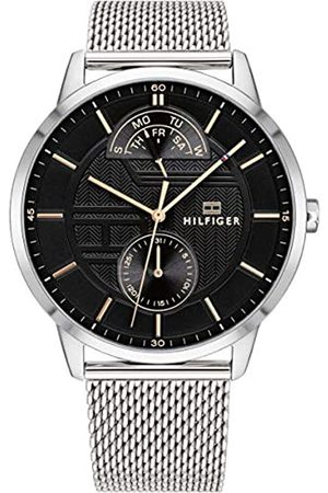 Tommy Hilfiger Mens Multi dial Quartz Watch with Stainless Steel Strap 1791610