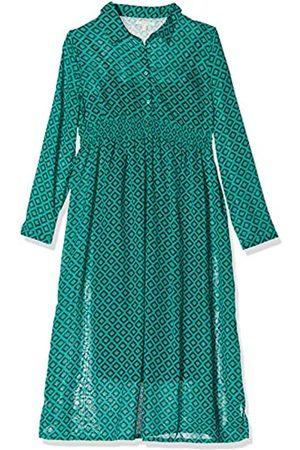 Esprit Women's Dress Maxi Nurs Ls AOP (Teal 372)