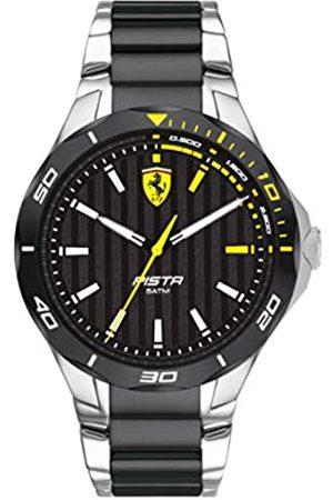 Scuderia Ferrari Men's Analogue Quartz Watch with Stainless Steel Strap 0830762