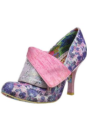 Irregular Choice Women's Flick Flack Closed Toe Heels, ( /Flora Dn)