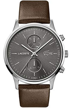 Lacoste Men's Analogue Quartz Watch with Leather Strap 2011066