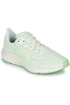 Nike Women's WMNS Air Zoom Pegasus 36 Running Shoe, Summit /Vapor Spruce Aura