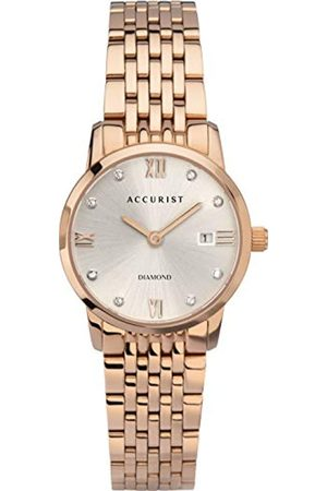 Accurist Women's Analogue Japanese Quartz Watch with Stainless Steel Strap 8354