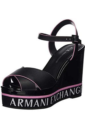 Armani Exchange Women's Platform Wedges Heels, ( + K001)