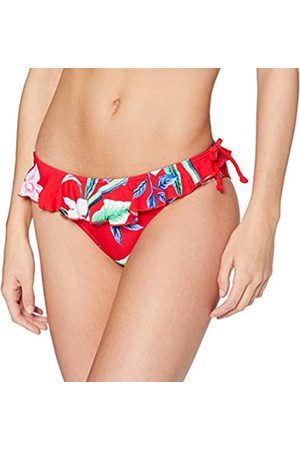 Pour Moi Women's Miami Brights Frill Brief Bikini Bottoms