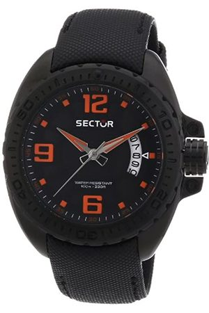 Sector Men's Quartz Watch with Dial Analogue Display and Leather Strap R3251573002