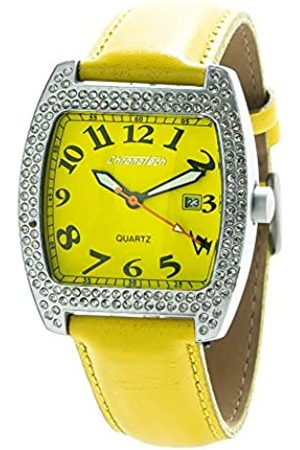 ChronoTech Womens Analogue Quartz Watch with Leather Strap CT7435-05