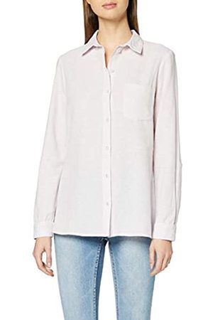 Dorothy Perkins Women's Lilac Linen Closed Collar Shirt