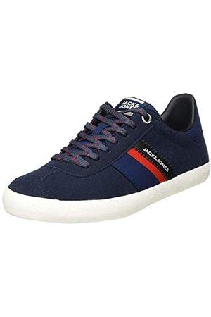 Jack & Jones Men's Jfwwalcot Synth Suede Navy Blazer Sneaker