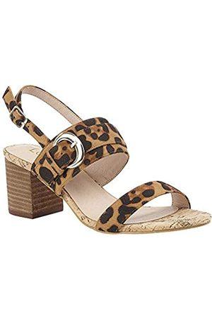 Lotus Women's Almaya Open Toe Heels, (Leopard Zz)