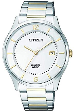 Citizen Men's Analogue Quartz Watch with Stainless Steel Strap BD0048-80A