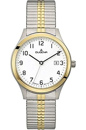 DUGENA Men's Analogue Quartz Watch with Stainless Steel Strap 4460755