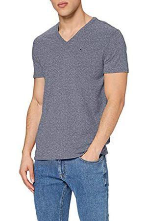 Tommy Jeans Men's Original Triblend V Neck Short Sleeve V-Neck T-Shirt