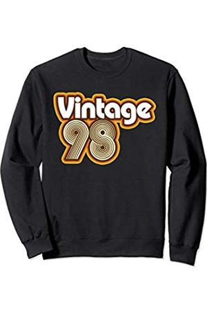 Styleuniversal Birthdays Vintage 1998 - Retro Birthday Gift for Men Women Sweatshirt