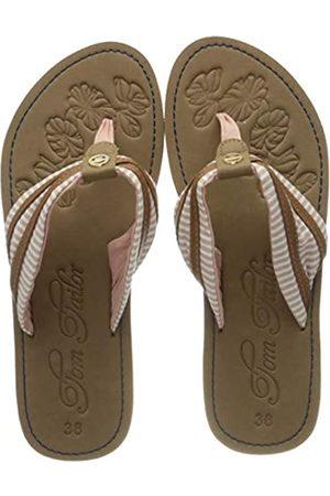 TOM TAILOR Women's 805200430 Flip Flops, (Rose 00175)