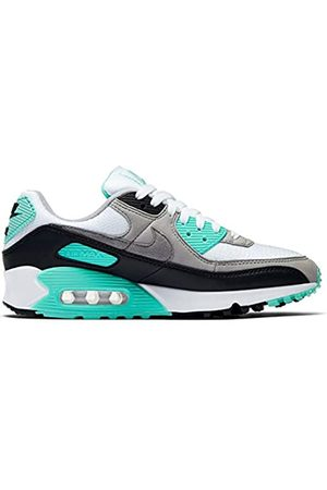 Nike Women's W Air Max 90 Running Shoe, /Particle -Hyper Turquoise