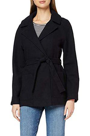 Dorothy Perkins Women's Navy Short Wrap Lightweight Coat