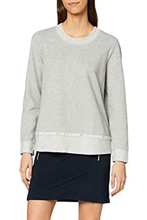 CECIL Women's Sweatshirt W. 2in1 Optic