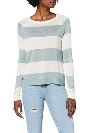 Vero Moda Women's VMLINA LS O-Neck Blouse Boo REP Sweater