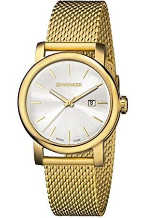 Wenger Women's Analogue Quartz Watch with Stainless Steel Strap 01.1021.118