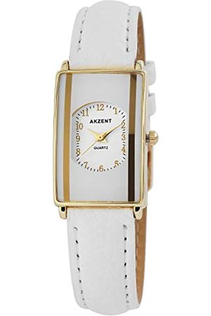 Akzent Womens Analogue Quartz Watch with Leather Strap SS7302000016