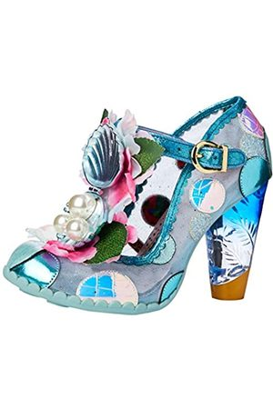 Irregular Choice Women's Seafoam Queen Open Toe Heels, ( A)