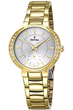 Festina MADEMOISELLE Women's Quartz Watch with Dial Analogue Display and Stainless Steel Plated Bracelet F16910/1