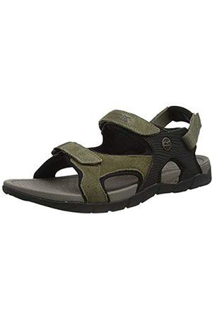 Regatta Men's Rafta Classic Open Toe Sandals, (Treetop/Blk 37e)
