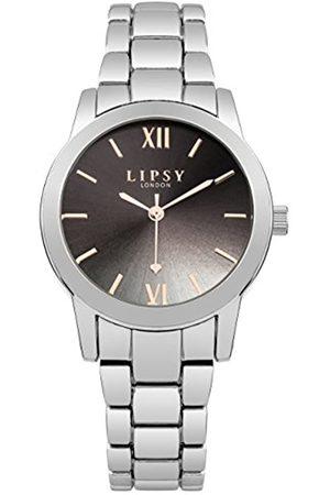 Lipsy London Womens Analogue Classic Quartz Watch with Aluminium Strap SLP004SM