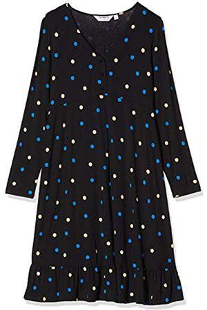 Dorothy Perkins Women's Maternity V Neck Tiered Coloured Spot Print Jersey Dress