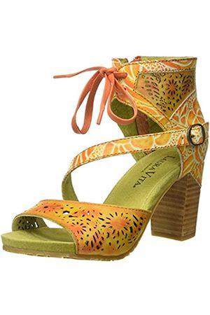 LAURA VITA Women's Bernie 178 Ankle Strap Sandals