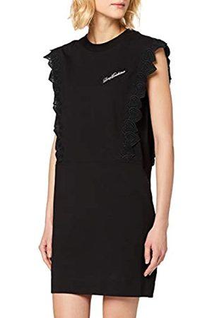 Love Moschino Women's Dress_Hearts Ribbon Trimming and Logo ( C)