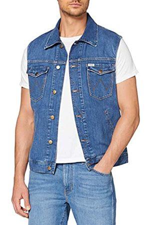 Wrangler Men's Vest Denim Jacket