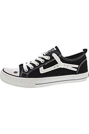 Dockers by Gerli Unisex Kids' 46iz604-790100 Low-Top Sneakers, (Schwarz 100)