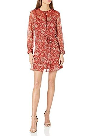 French Connection Women's ESI Crinkle Business Casual Dress