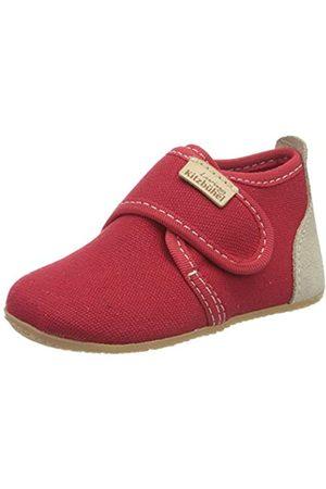 Living Kitzbühel Velcro Uni, Unisex Baby Walking Baby Slippers, (Rot 350)
