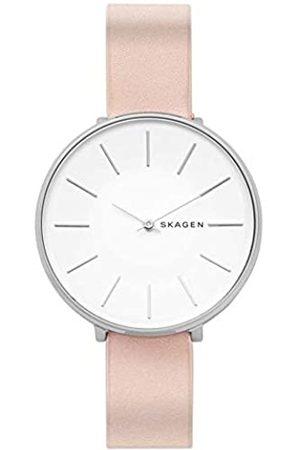 Skagen Women's Analogue Quartz Watch with Leather Strap SKW2690