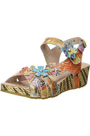 LAURA VITA Women's Bicngoo 93 Platform Sandals