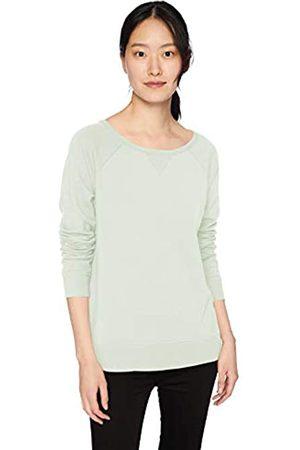 Daily Ritual Terry Cotton and Modal High-Low Sweatshirt Shirt