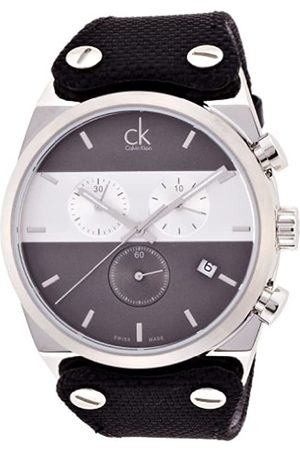 Calvin Klein Men's Quartz Watch with Chronograph Quartz Rubber K4B371B3