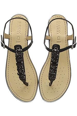 Geox Women's D Sozy Plus E Open Toe Sandals, ( C9999)